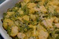 Pasticcio di fagiolini e patate gratinati