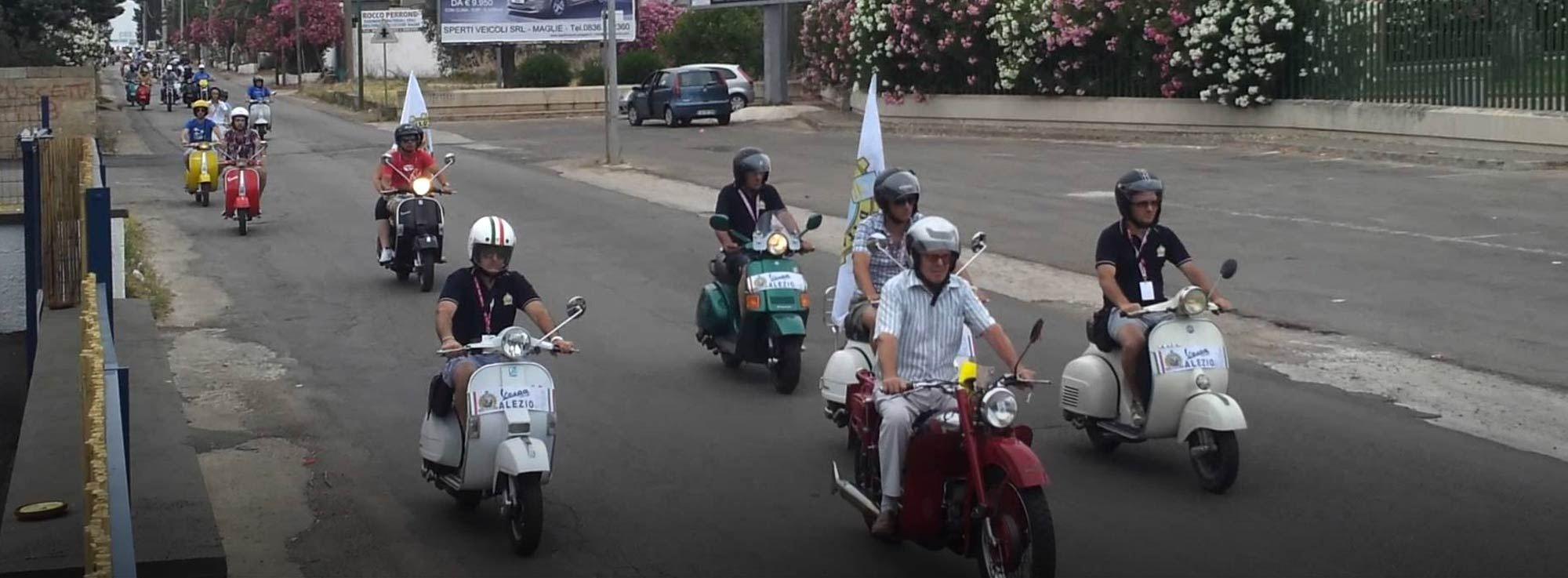 Francavilla Fontana: Raduno di Moto storiche