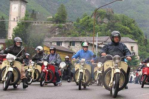 Raduno di Moto storiche