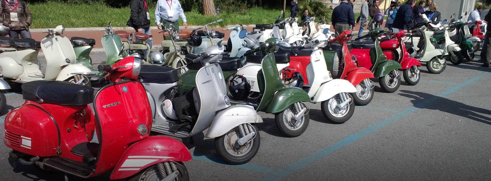 Lecce: Raduno Nazionale Vespa Piaggio