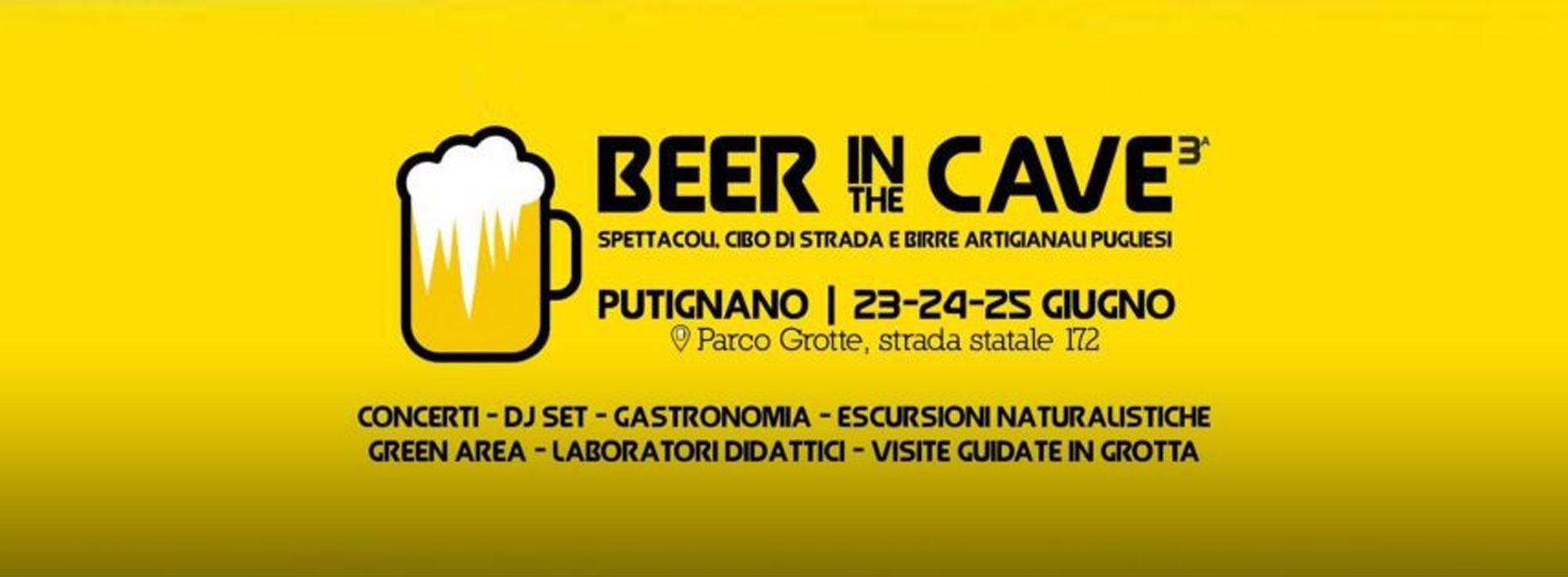 Putignano: Beer in the Cave