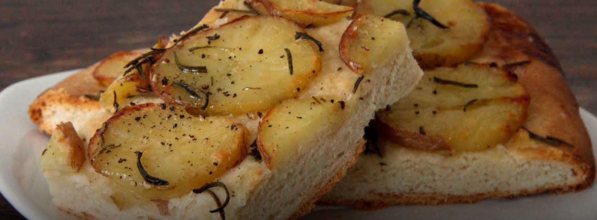 Ricetta: Focaccia con patate e rosmarino