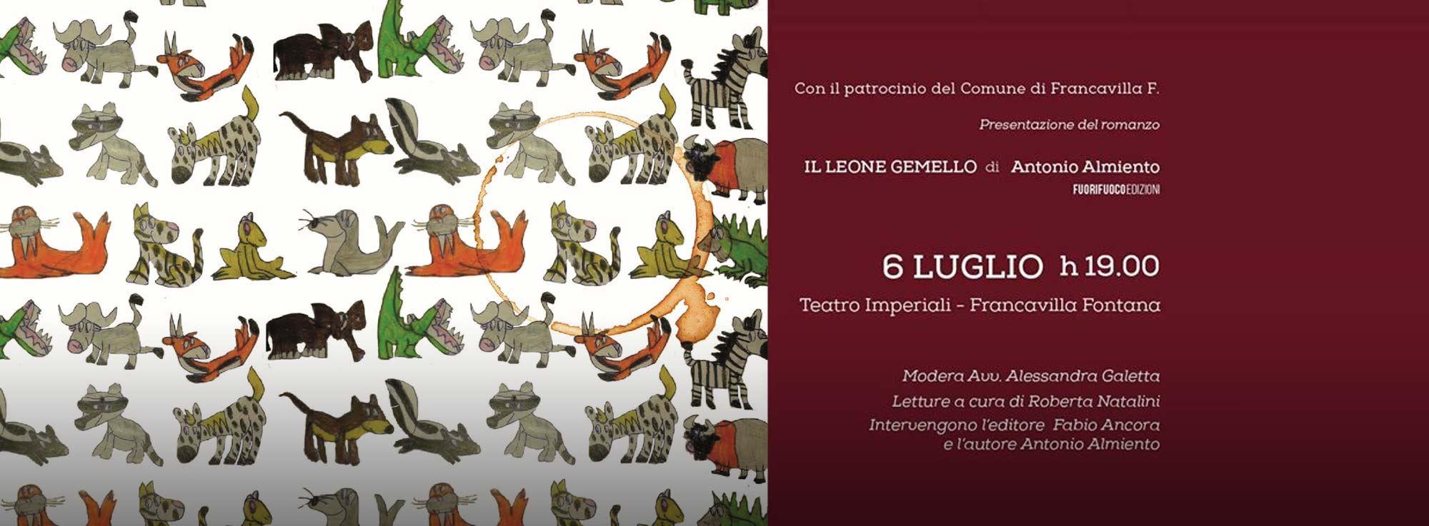 Francavilla Fontana : Il leone gemello di Antonio Almiento