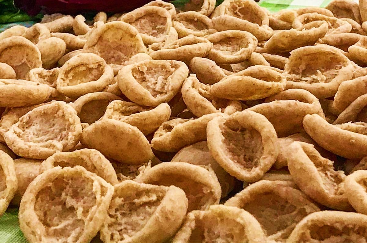 Orecchiette di grano arso con cime di zucchine