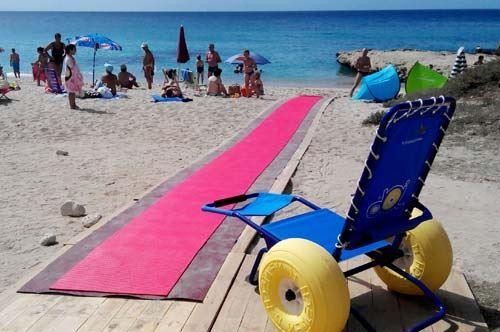 Spiagge attrezzate per disabili, Trani segue San Foca