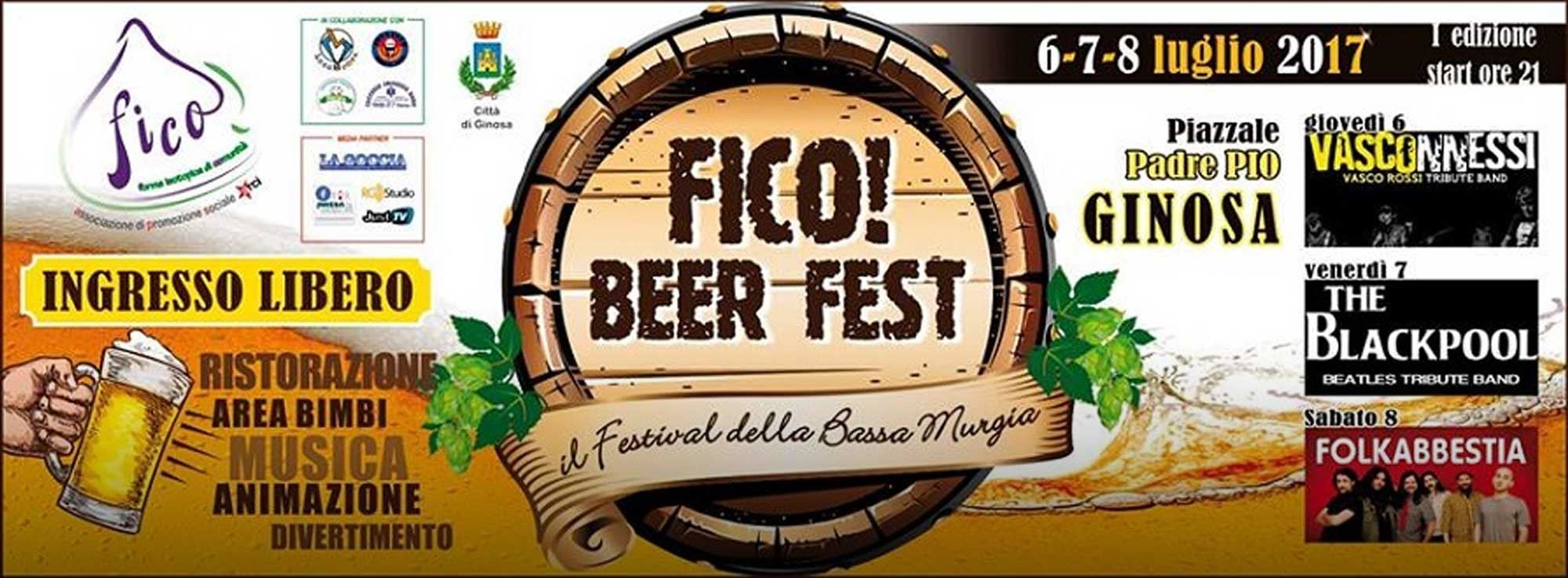 Ginosa: Fico! Beer Fest