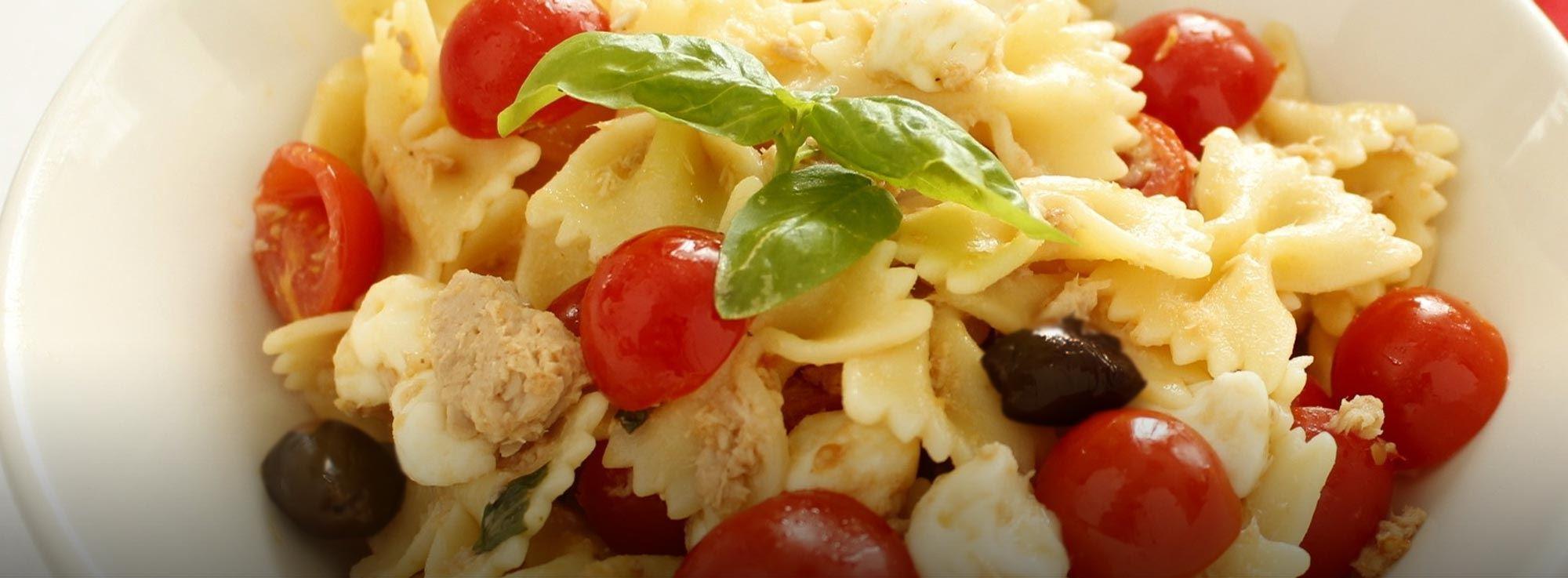 Ricetta: Insalata di pasta mediterranea