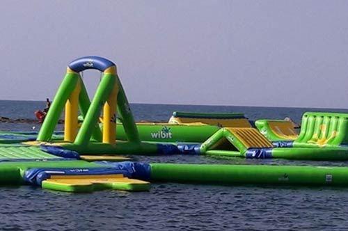 Un parco acquatico in mare, la novità del divertimento a Bisceglie