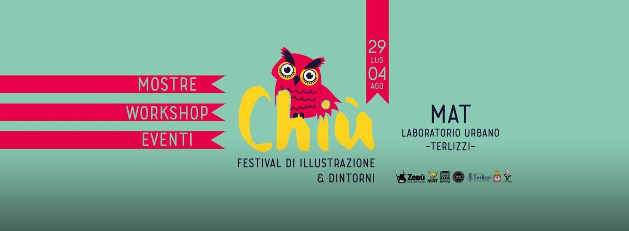 Terlizzi: Chiù, il festival di illustrazione e dintorni