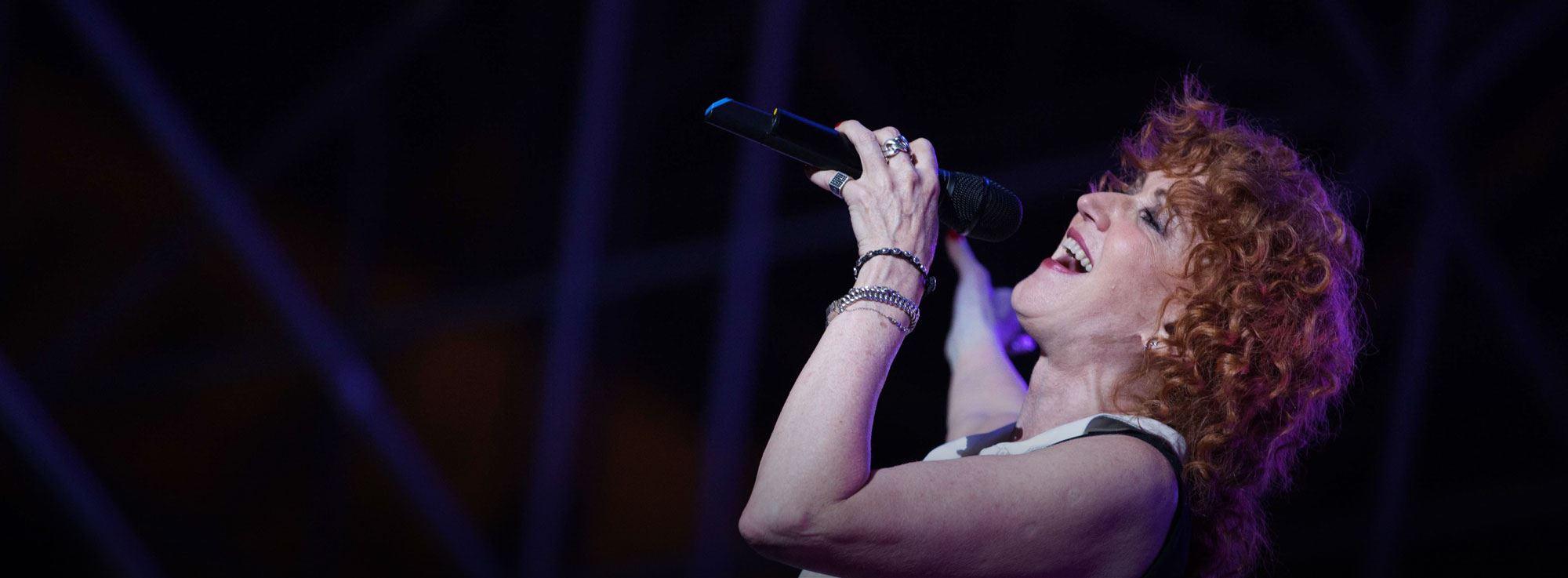 Trani: Fiorella Mannoia, Combattente Tour