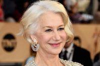 Scorrano, il premio Oscar Helen Mirren catturata dalle luminarie