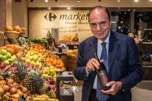 Bruno Vespa produttore di vini in Puglia, esporta adesso in tutto il mondo