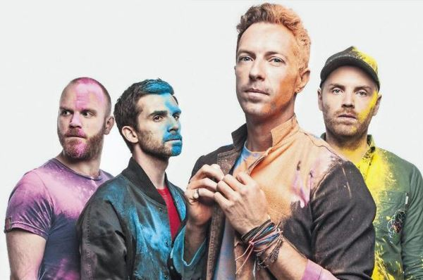 A night with Coldplay al Friedrich II