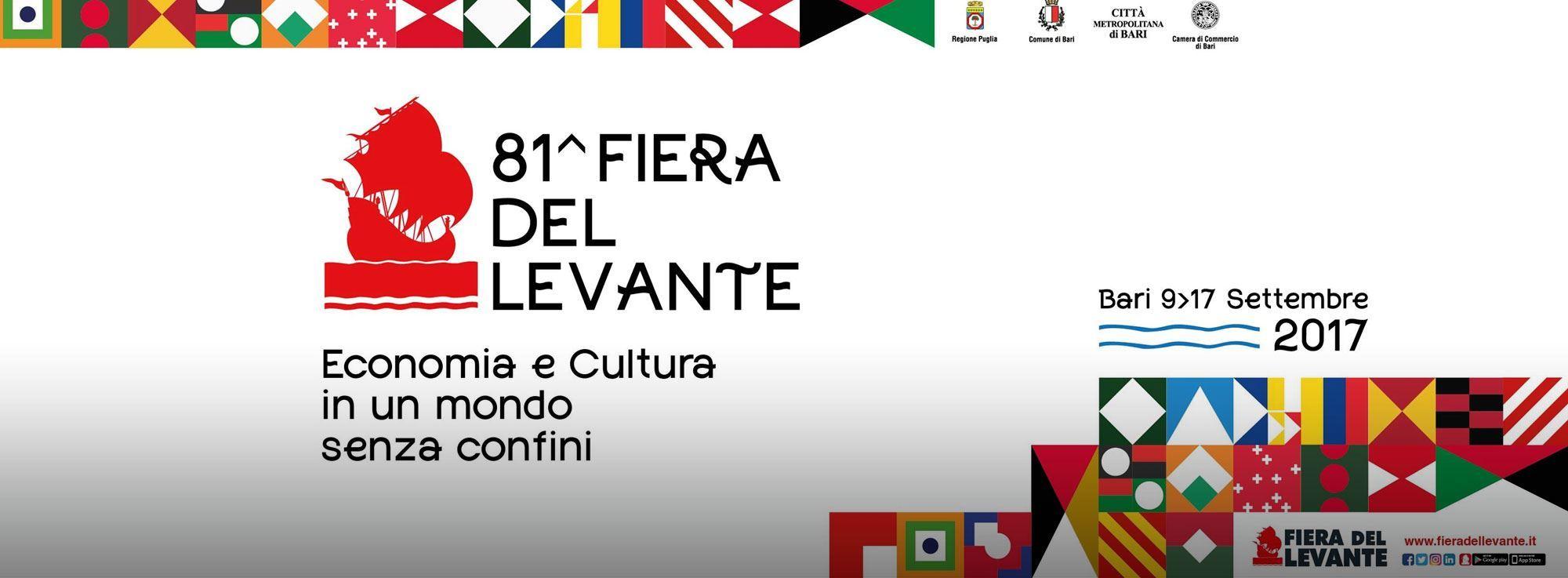 Bari: Fiera del Levante, 81esima edizione