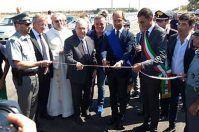 Inaugurato il primo tratto del raddoppio Andria-Trani in strada provinciale 1