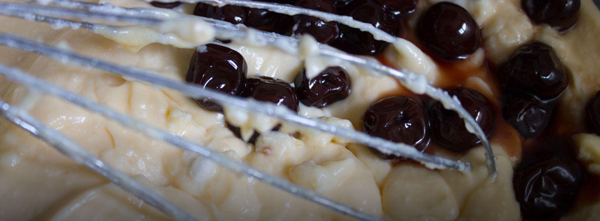 Ricetta: Ricotta infornata dolce con amarene selvatiche