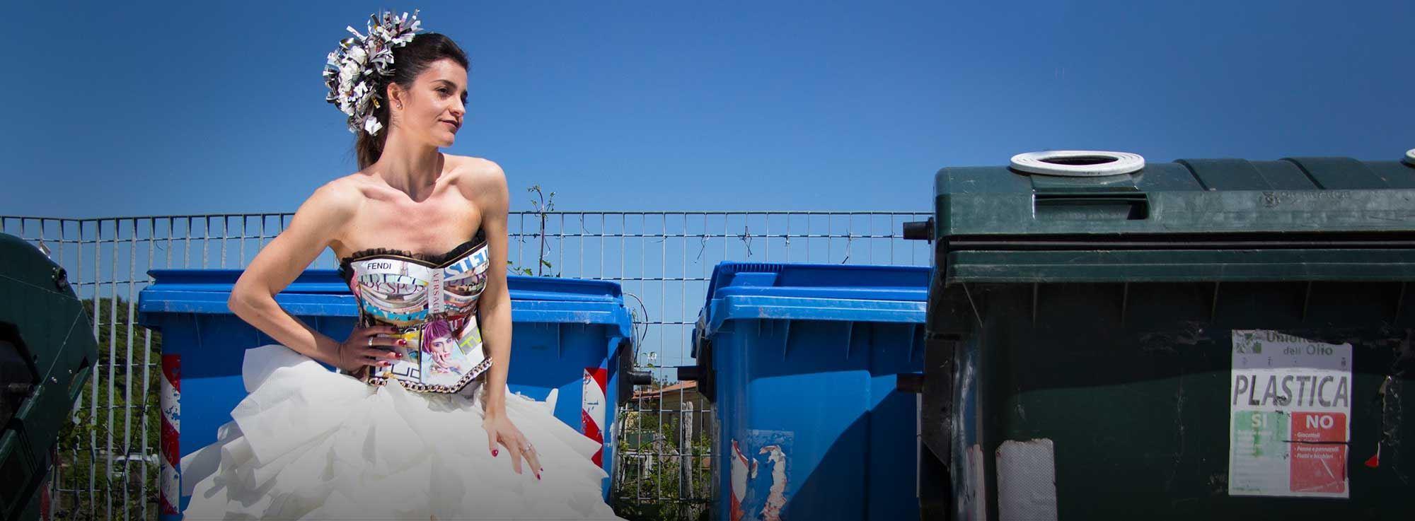 Stornarella: Rifiuti d'alta moda
