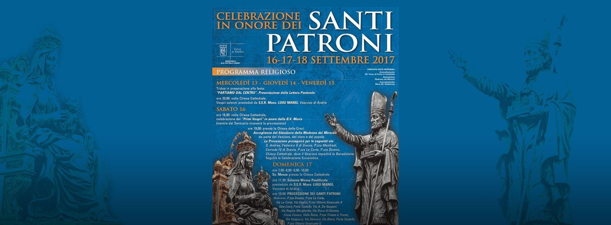 Andria: Festa dei Santi Patroni
