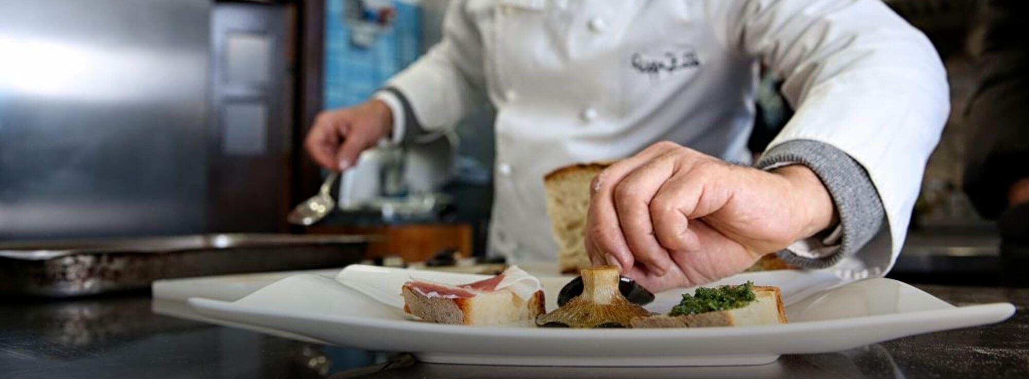 Orsara di Puglia: Il cibo giusto - The right food
