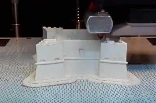 Castello svevo di Barletta stampato in 3D, tecnologia per la storia