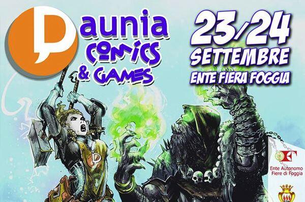 Daunia Comics & Games, torna a Foggia la festa del fumetto