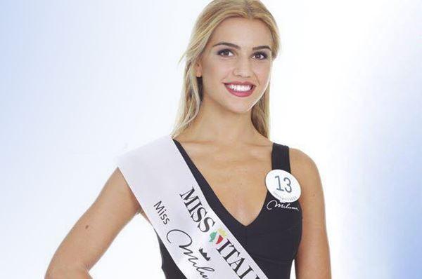 Emilia Paolicelli, pugliese in finale a Miss Italia 2017 stasera su La7