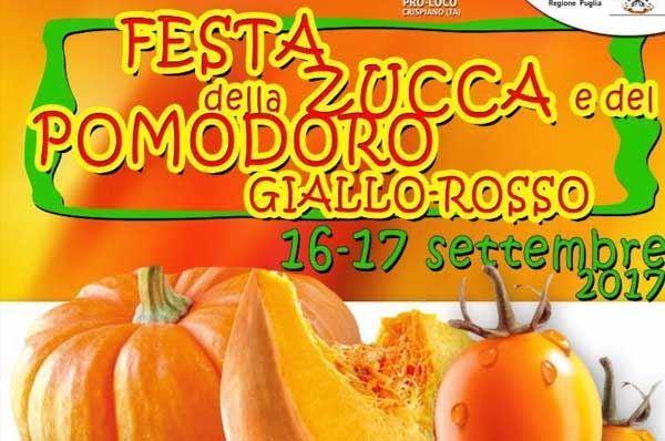 Festa della Zucca e del Pomodoro Giallo Rosso