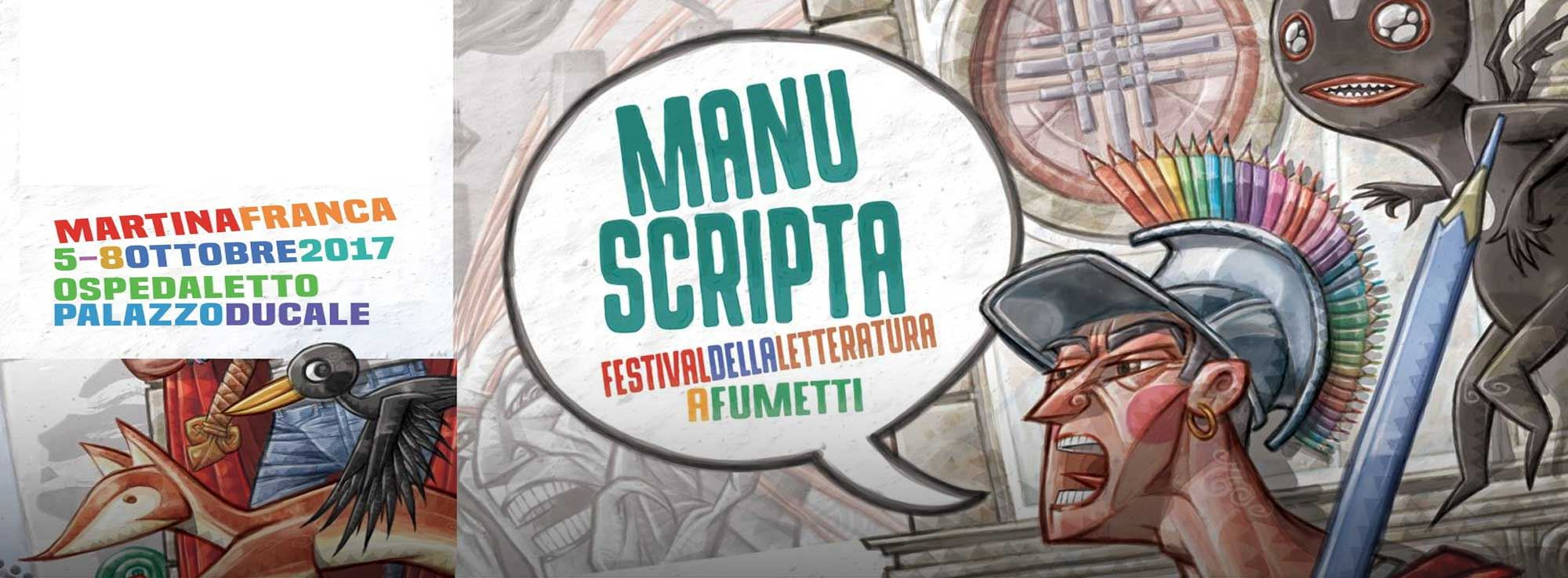 Martina Franca: Manuscripta 2017