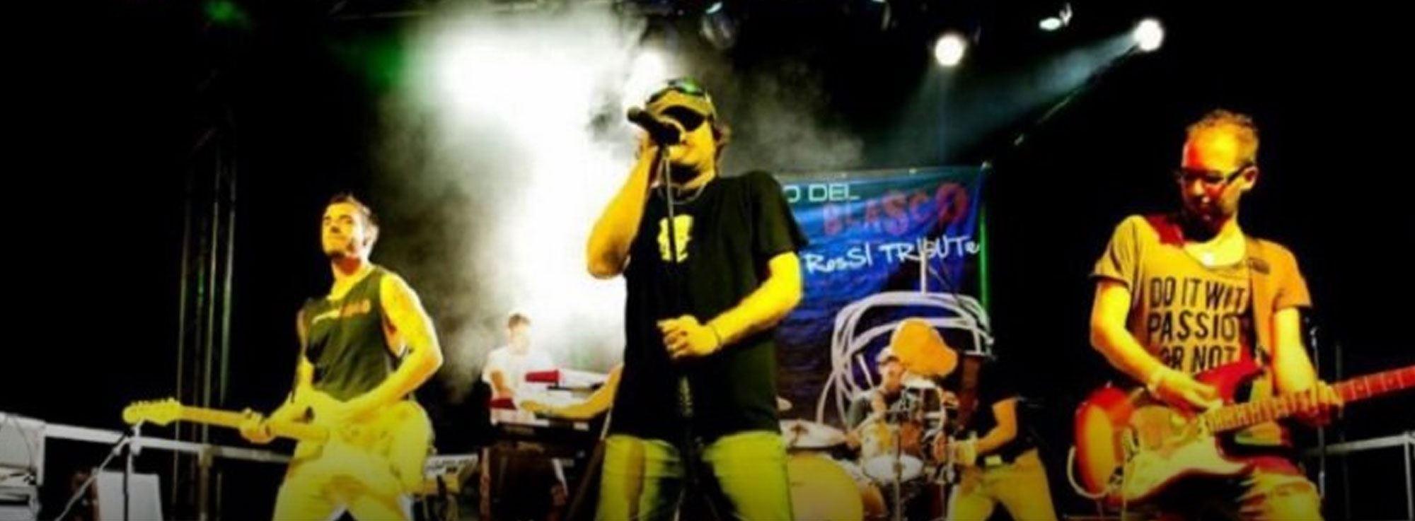 Barletta: Sandro del Blasco, Vasco Rossi tribute band