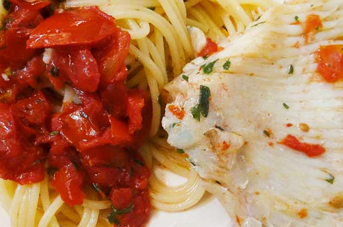 Spaghetti al sugo di razza
