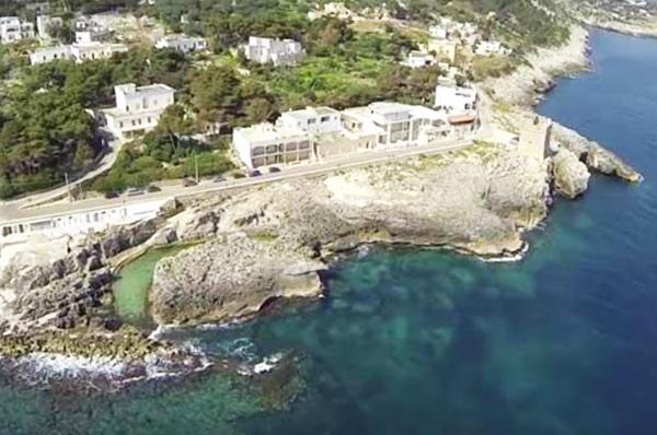 Salento con le terrazze vista cielo e mare nella zona più bella di Puglia