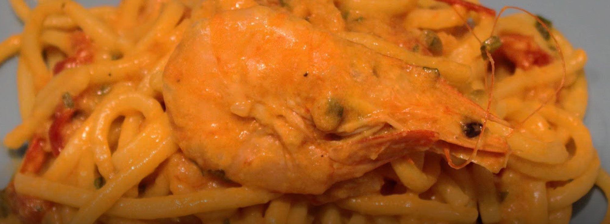 Ricetta: Troccoli pugliesi in salsa rosa