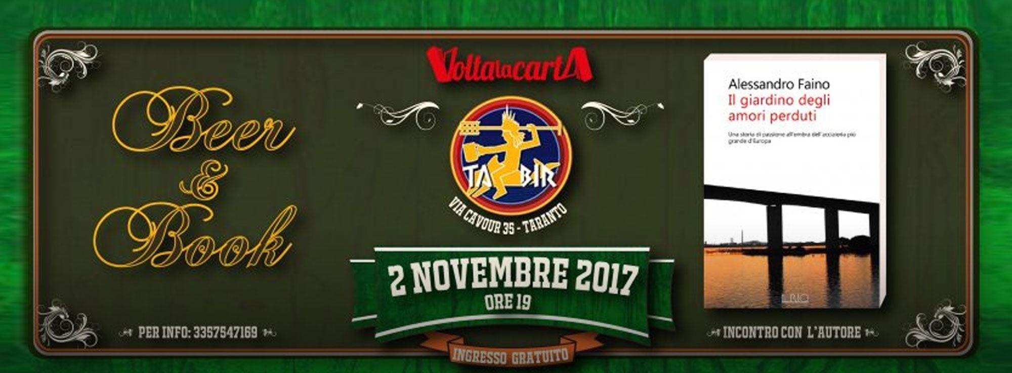Taranto: Beer & Book - Alessandro Faino