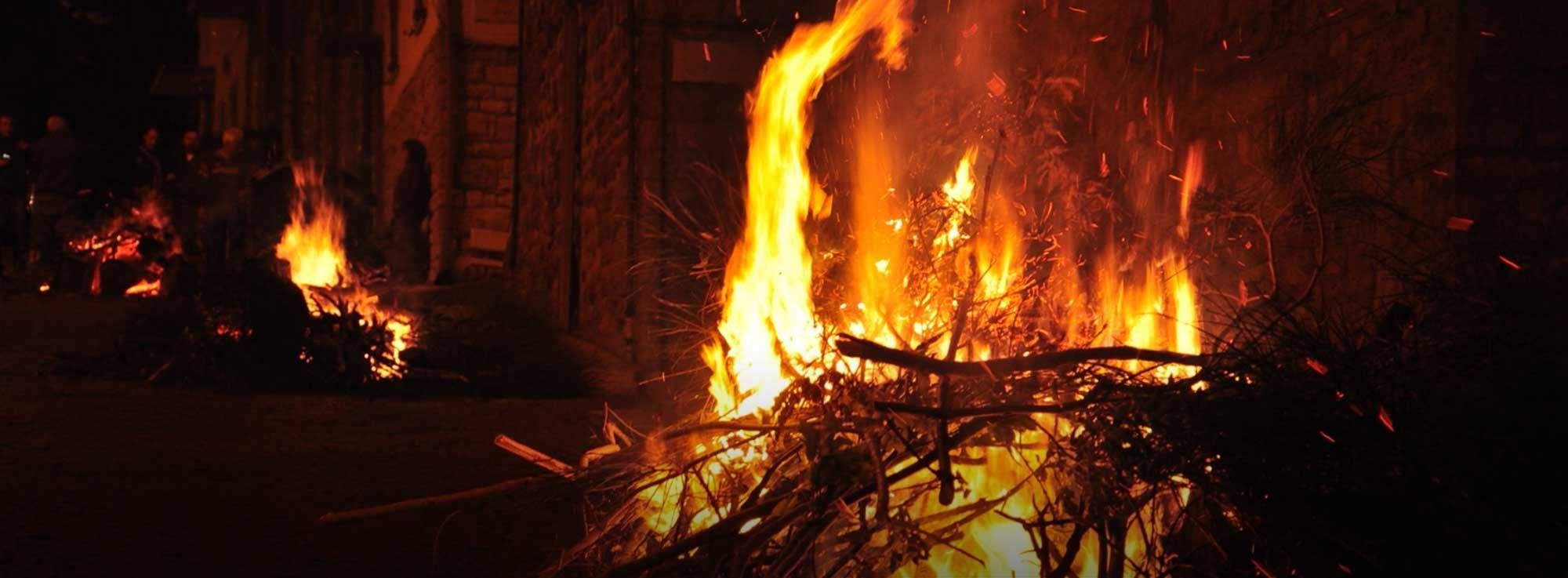 Orsara di Puglia: Fucacoste e Cocce Priatorje