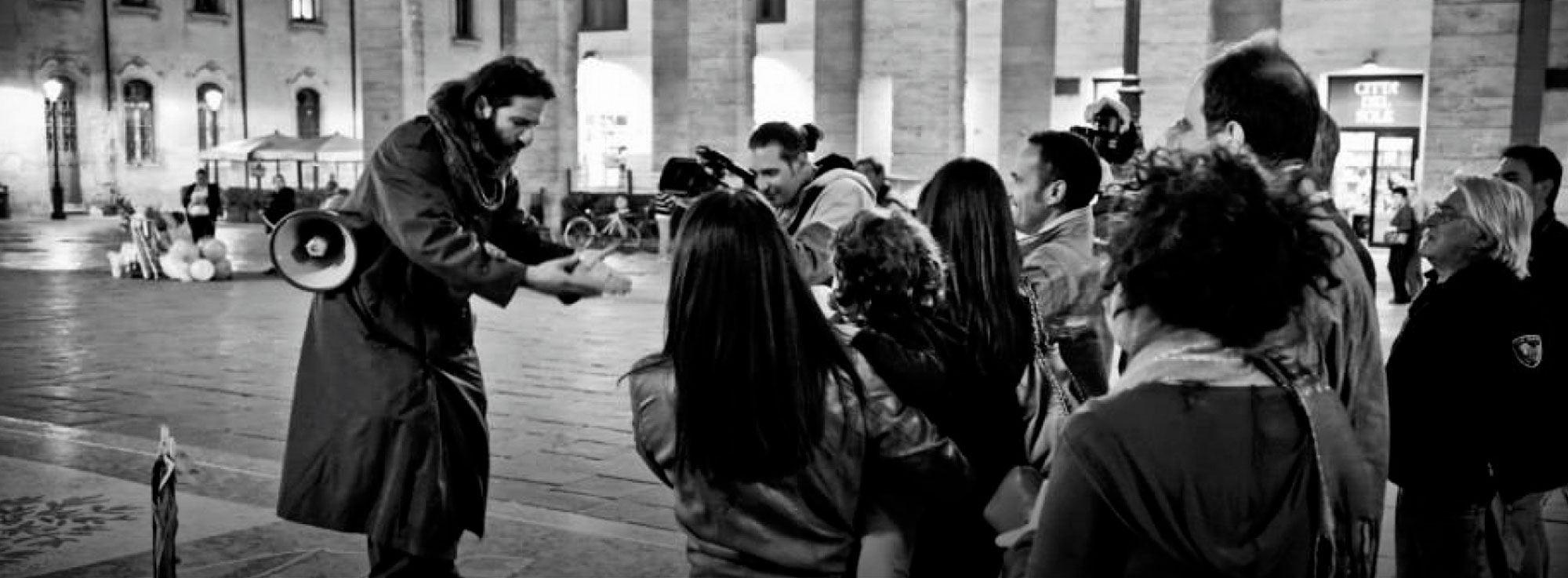 Lecce: Artisti Barboni per un giorno