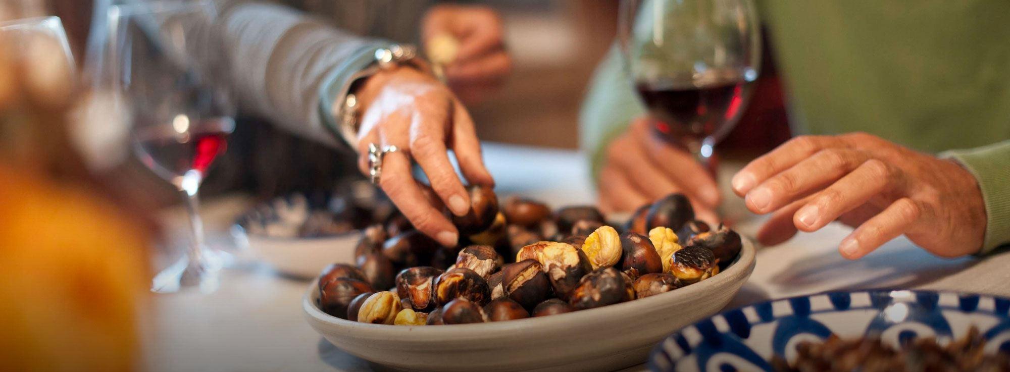 Melendugno: Festa della castagna e del vino salentino