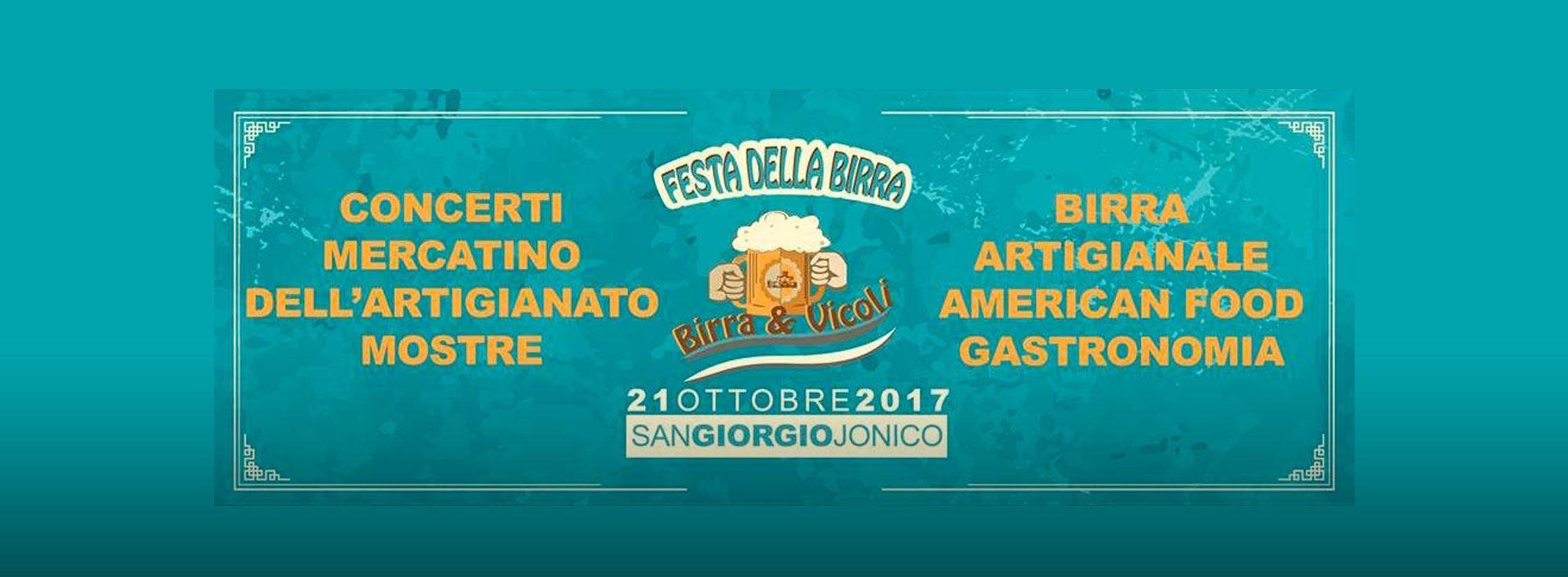 San Giorgio Ionico: Birra & Vicoli
