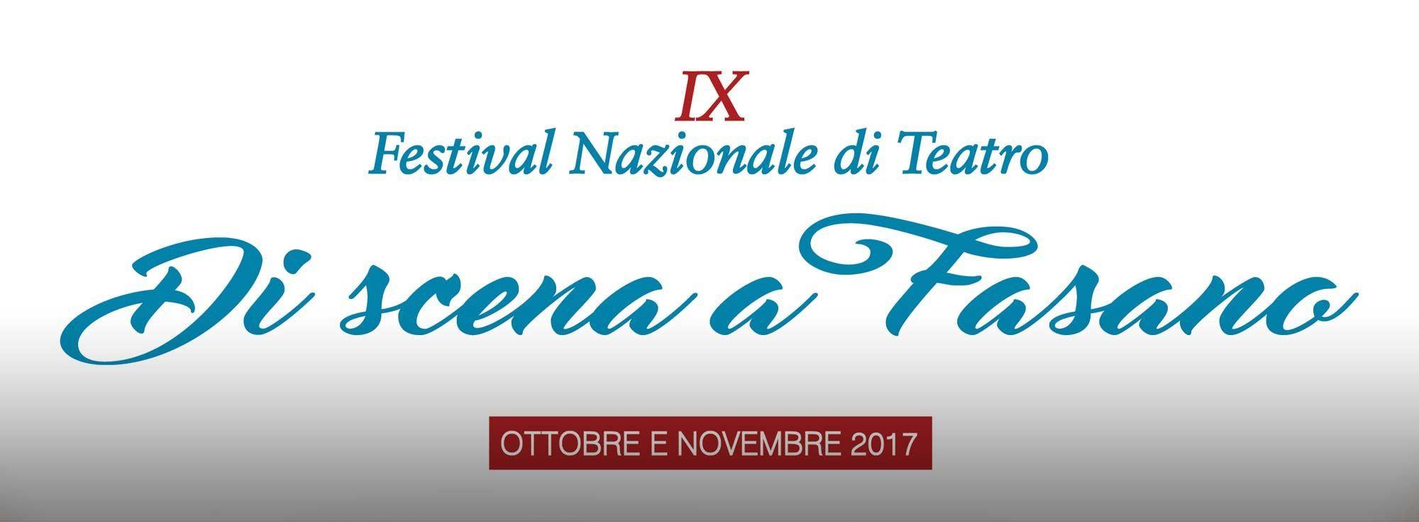 Brindisi: Festival nazionale del Teatro amatoriale