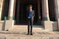 Francesco, è pugliese il primo laureato al mondo in Ingegneria Bionica