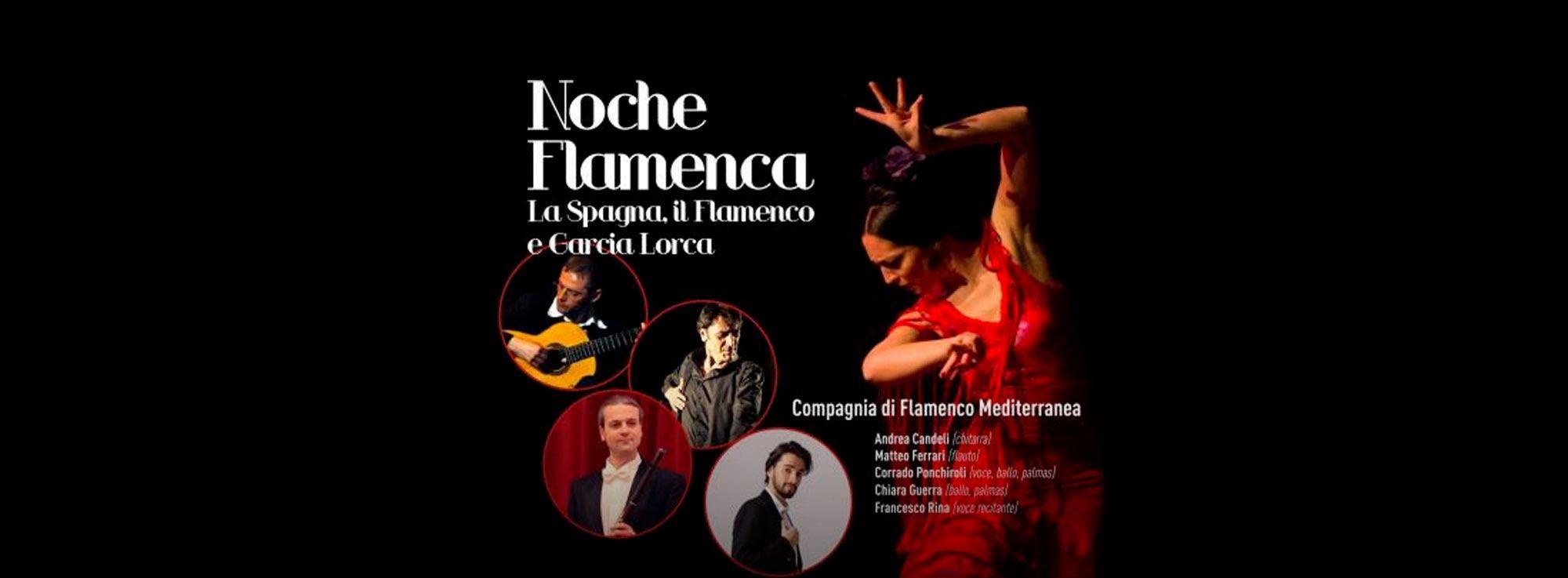 Brindisi: Noche Flamenca ... Il Flamenco e la Spagna di Garcia Lorca