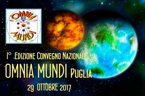 Convegno nazionale Omnia Mundi Puglia