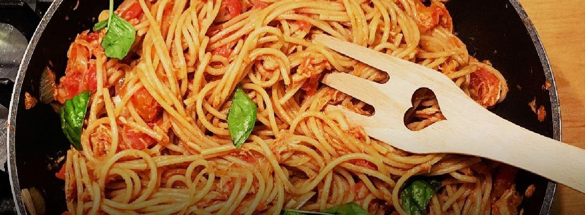 Ricetta: Spaghetti con sugo di tonno
