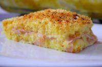Pitta di patate prosciutto e formaggio
