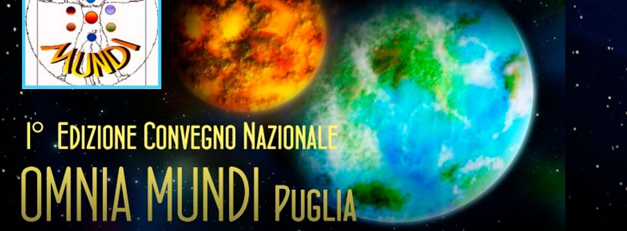 Cisternino: Convegno nazionale Omnia Mundi Puglia