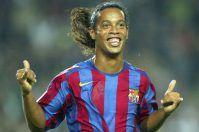 Ronaldinho a Lecce nel progetto Il Vino dei Campioni di Fabio Cordella