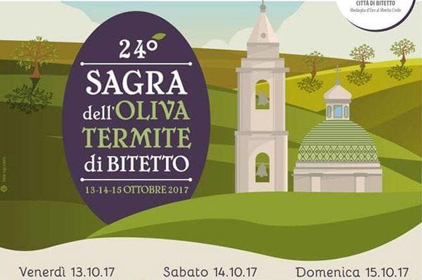 Sagra dell'oliva termite di Bitetto