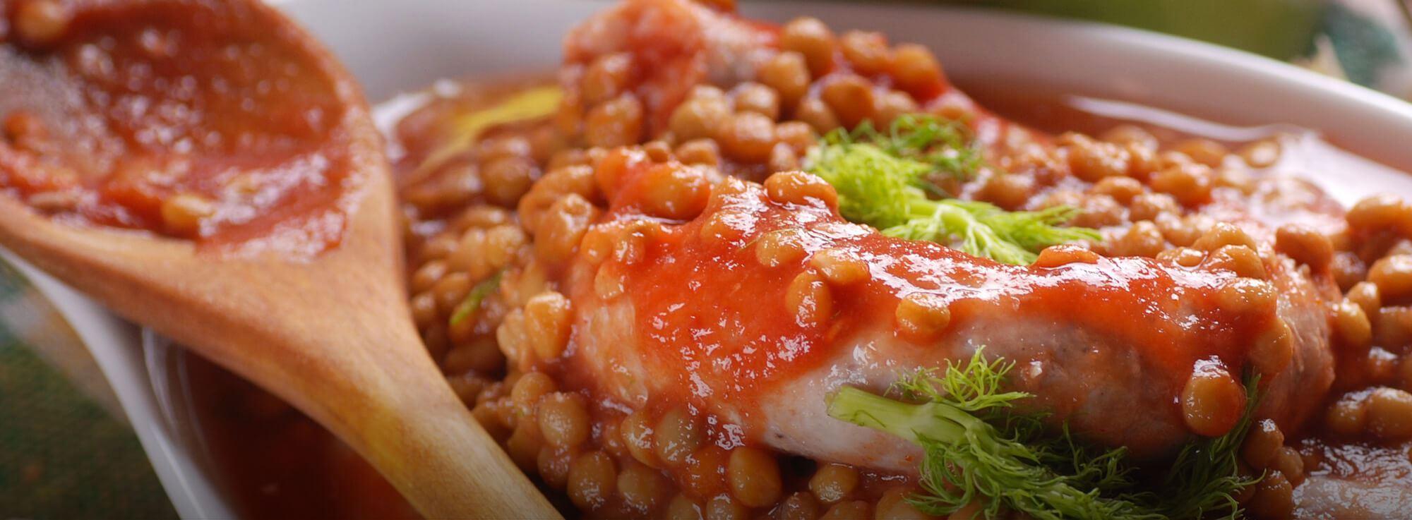 Ricetta: Lenticchie e salsiccia