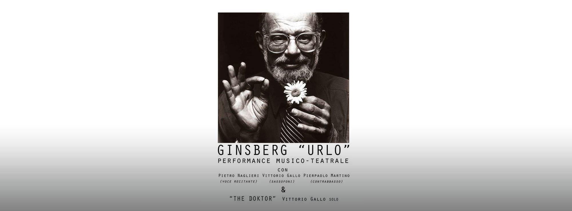 Bari: Ginsberg Urlo