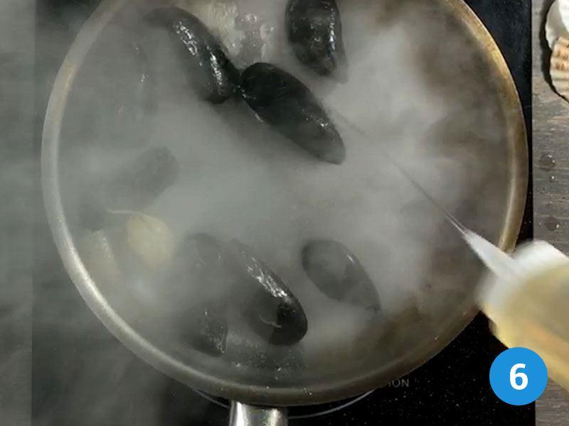 cottura cozze