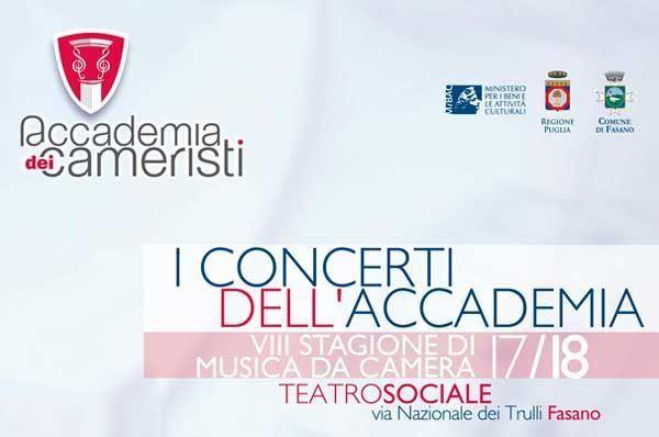VIII stagione concertistica - Accademia dei Cameristi